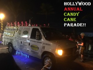 candy cane parade