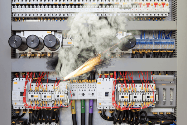 An overloading panel is a fire hazard and is a good reason to replace your electrical panel.